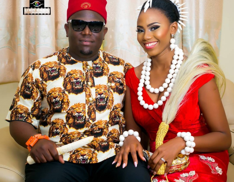 Neka And Douglas Traditional Wedding In Igbo Yoruba Attire