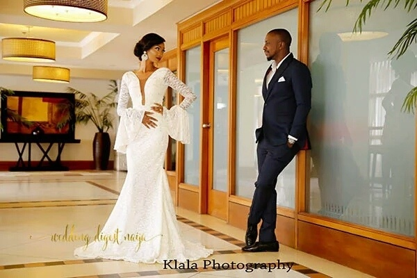 How Teju And Dapo Incorporated Their Traditional Outfits To Their