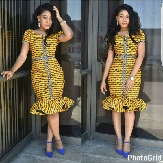Trendsetting & Excitingly Glamorous Ankara Styles For Wedding Guests