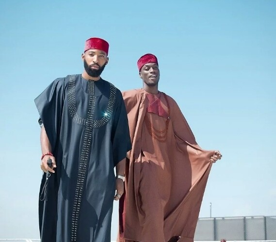 Men's Special: Check Out These Agbada With a Fashion Twist By Ugo Monye For Wedding Guests