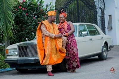 Photos From The Traditional Wedding Of Lucky Igbinedion's Daughter