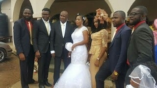 Nollywood Director, Zack Amata Weds For The First Time In His 60s (Photos)