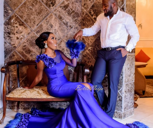 Anita & Olayemi's Beautiful Pre-Wedding Shoot And Love