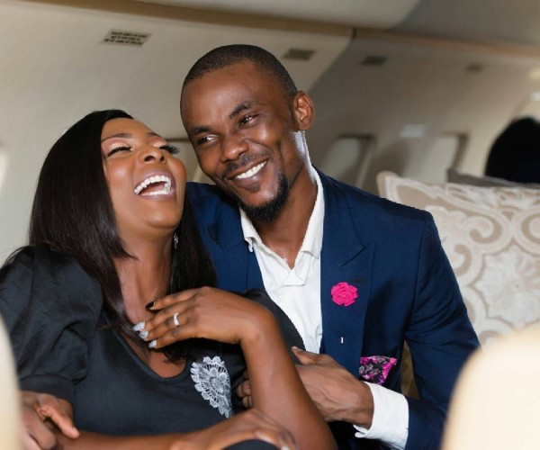 Wale and Oiza Love Story & Pre-Wedding Shoot In A Private Jet