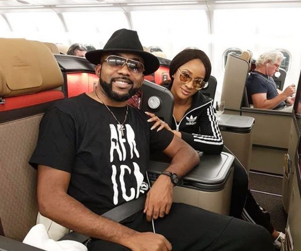 Banky W & Adesua Jet Out Of The Country In Preparation For White Wedding