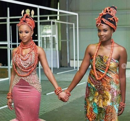 Image result for edo traditional marriage clothes
