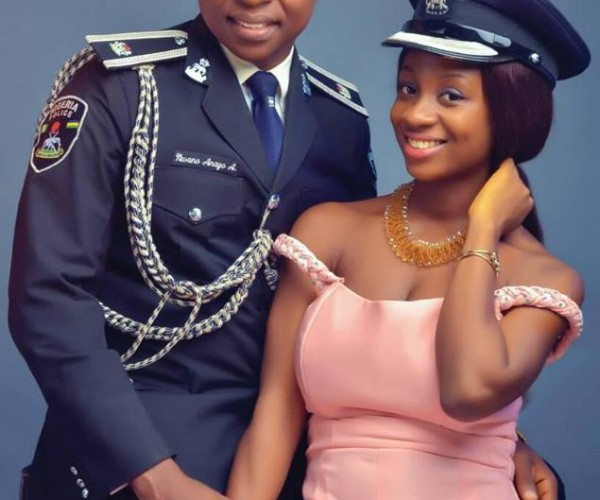 Pre-wedding Photos Of A Police Officer And His Pretty Partner