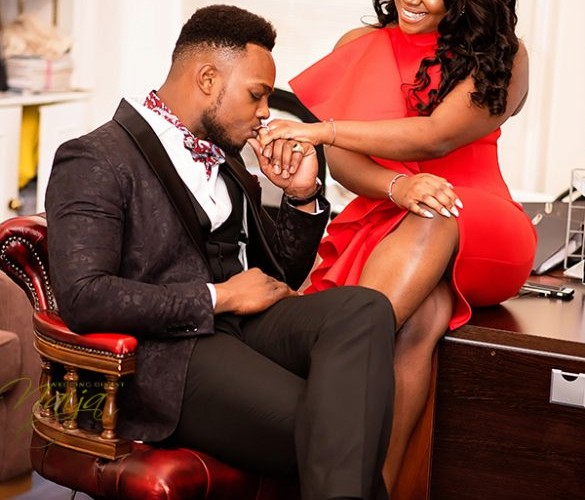 Lawyers in Love: Uwa and Ade Love Story + Pre-Wedding Photos #ForeverandAde