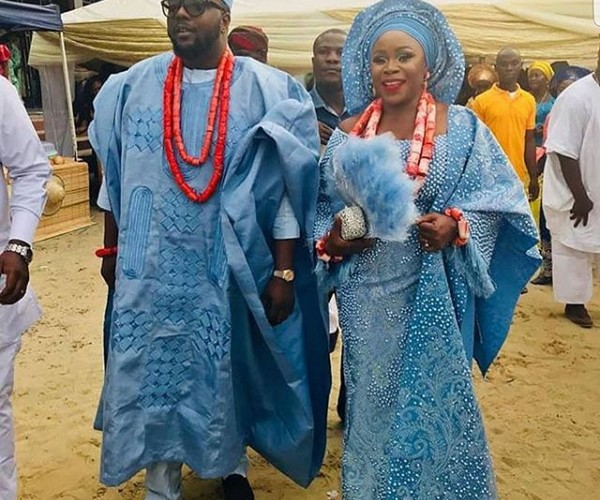 More photos from Singer Omawumi and Tosin Yusuf's traditional wedding in Warri