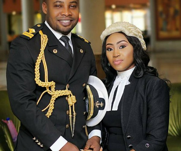 Checkout These Pre-Wedding Photos Of A Naval Officer & Lawyer