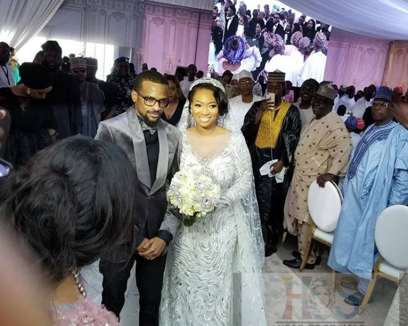Fatima-ganduje-idris-abolaji-ajimobi-white-wedding-photos
