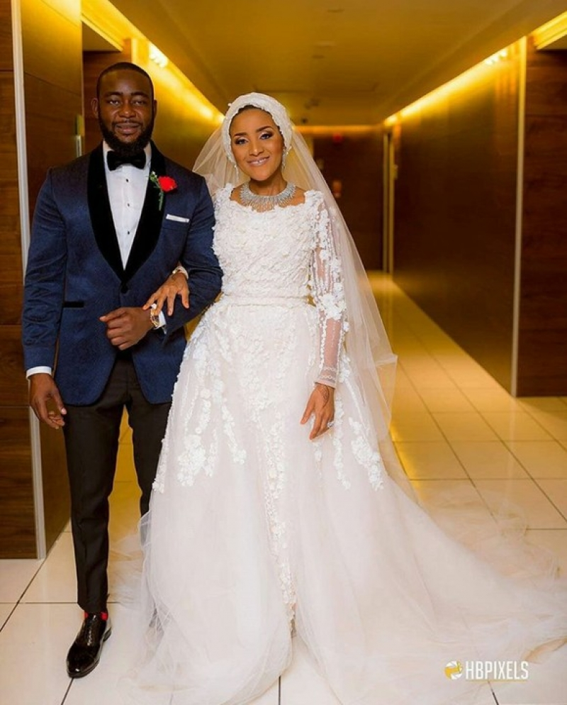 Fatima-dangote-and-jamil-abubakar-white-wedding