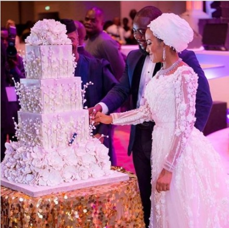 Wedding-cake-of-fatima-dangote-and-jamil-abubakar-2