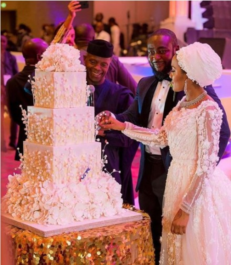 Wedding-cake-of-fatima-dangote-and-jamil-abubakar-wedding