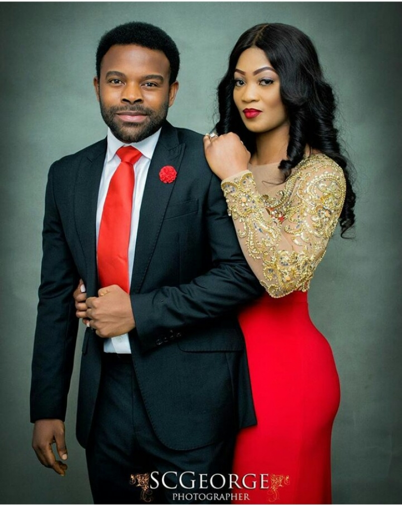 Gabriel afolayan and his girlfriend banke in pre-wedding photos-4