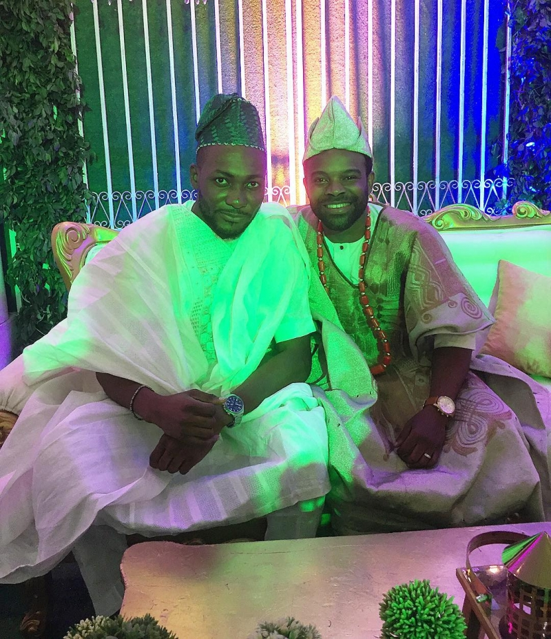 First photos from gabriel afolayan and banke traditional wedding-10
