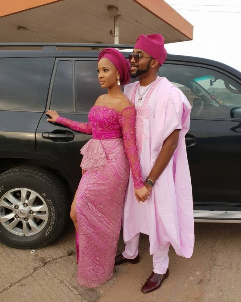 First photos from gabriel afolayan and banke traditional wedding-3