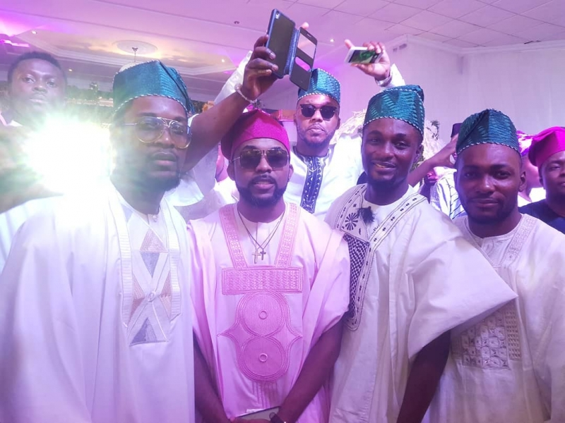 First photos from gabriel afolayan and banke traditional wedding-7