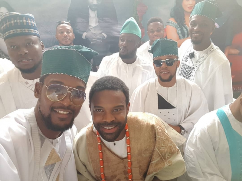 First photos from gabriel afolayan and banke traditional wedding-8