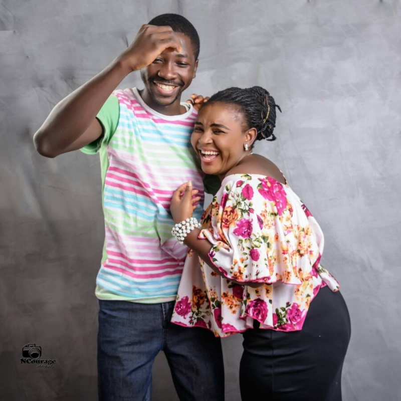 Fowoshe and his finance in pre-wedding photos-4