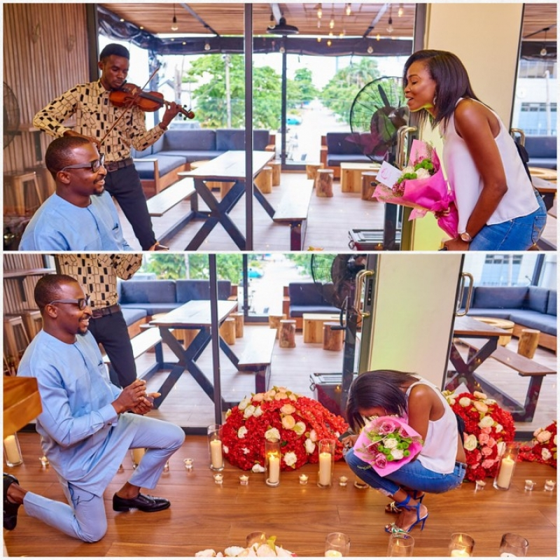 Tolu proposes to girlfriend banke-4