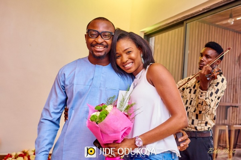 Tolu proposes to girlfriend banke-7