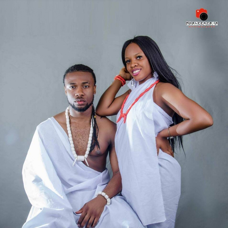Pre-wedding photos of sllow bobo and chiamaka aliba