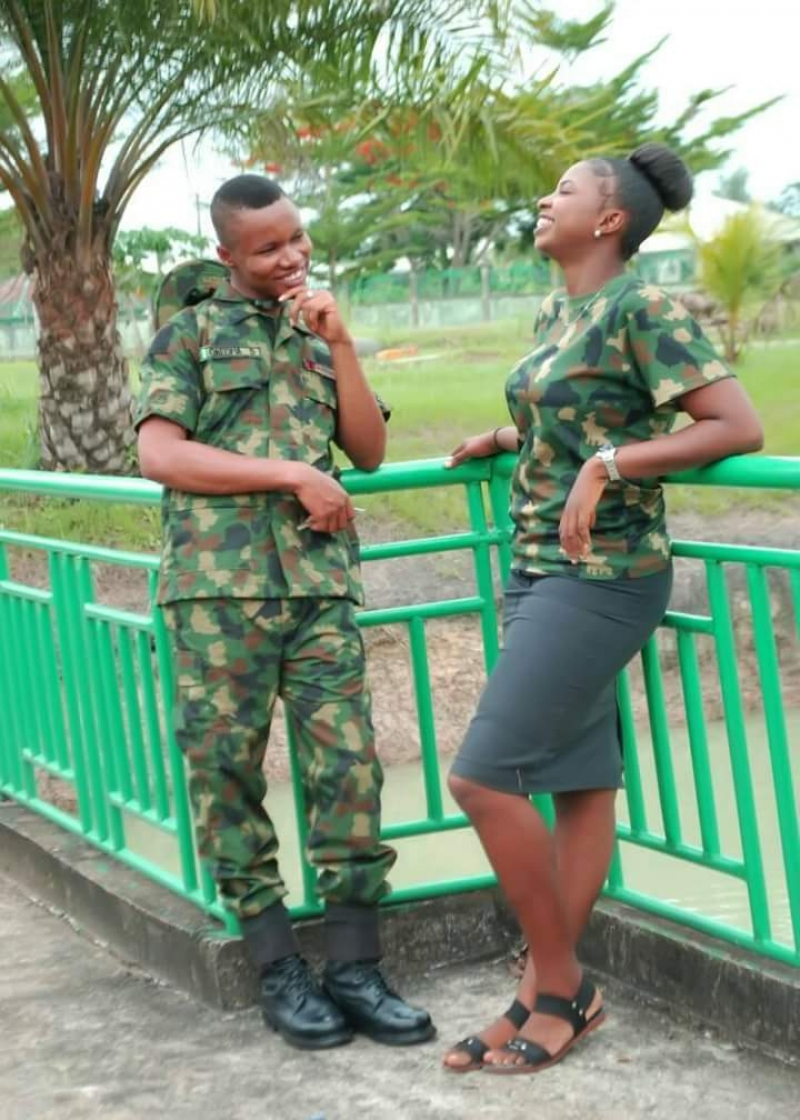 Pre-wedding photos of nigerian soldier and his wife to be-2