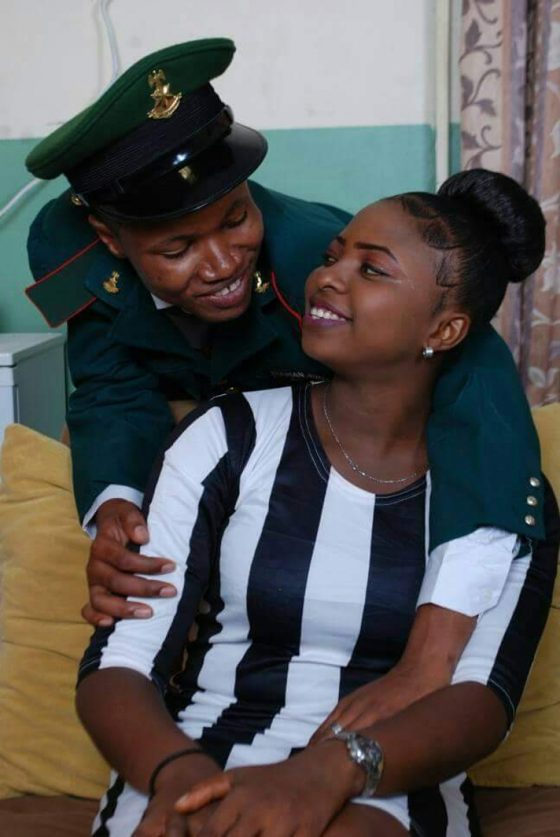 Pre-wedding photos of nigerian soldier and his wife to be-3