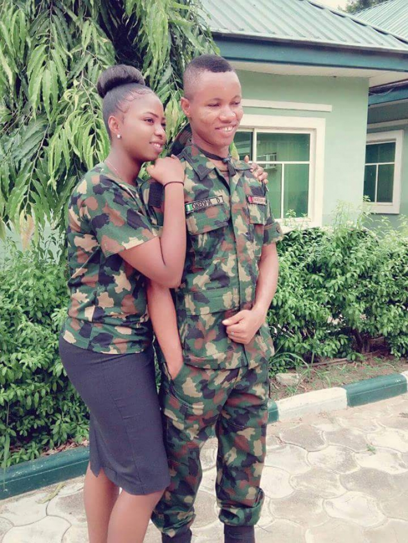 Pre-wedding photos of nigerian soldier and his wife to be-6