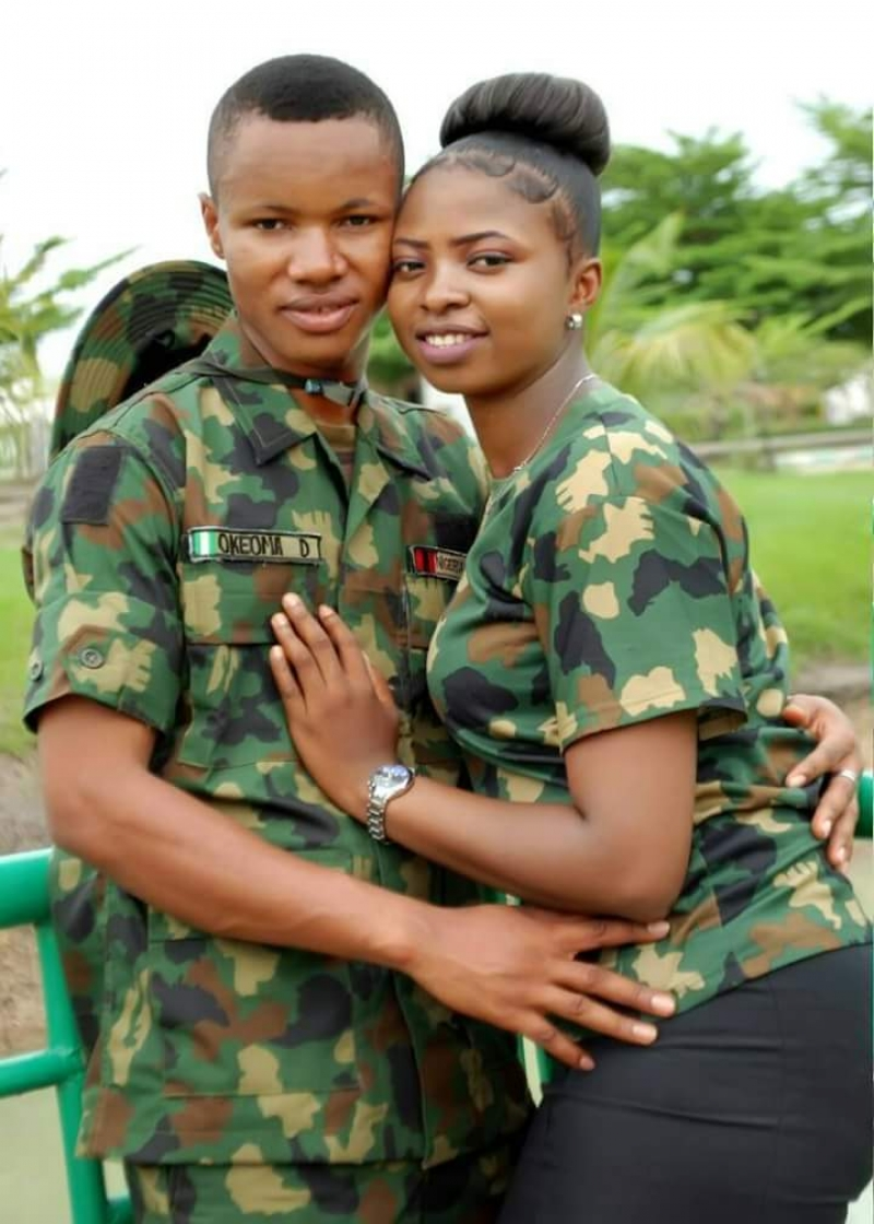 Pre-wedding photos of nigerian soldier and his wife to be-8