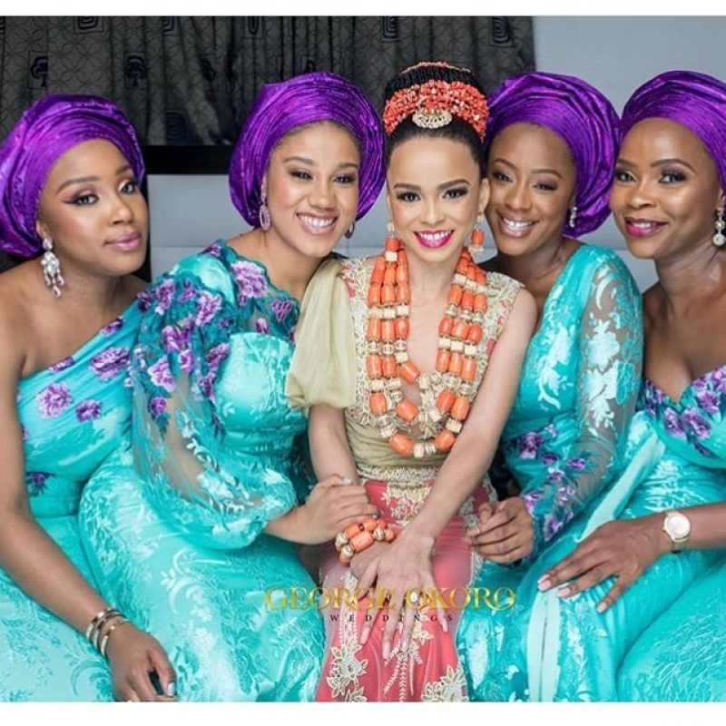 Stephanie eze and soji ogundoyin traditional wedding photos-3