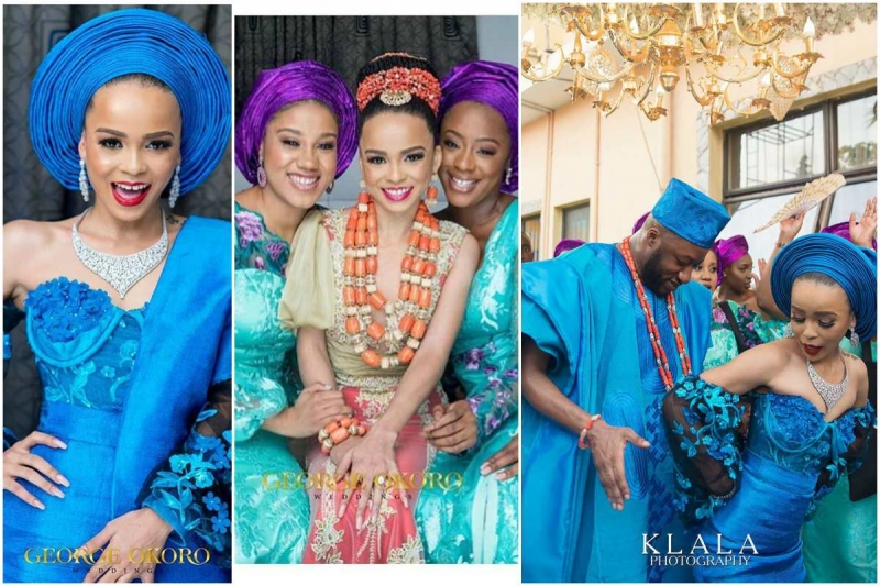 Stephanie eze and soji ogundoyin traditional wedding photos-5
