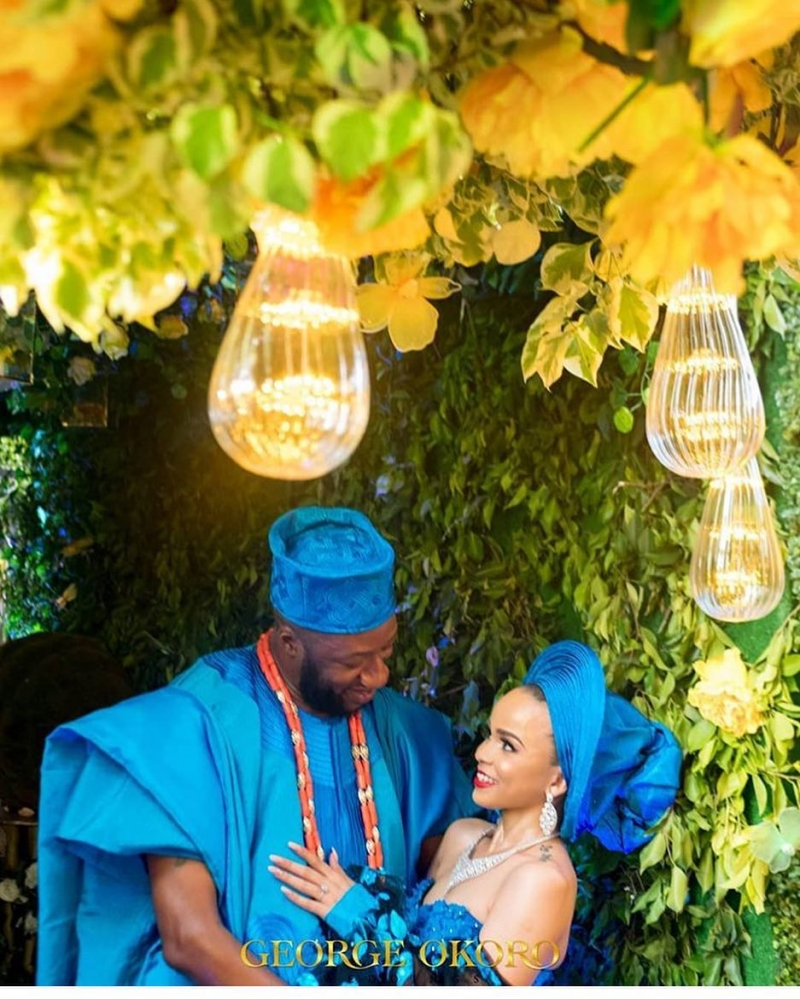Stephanie eze and soji ogundoyin traditional wedding photos