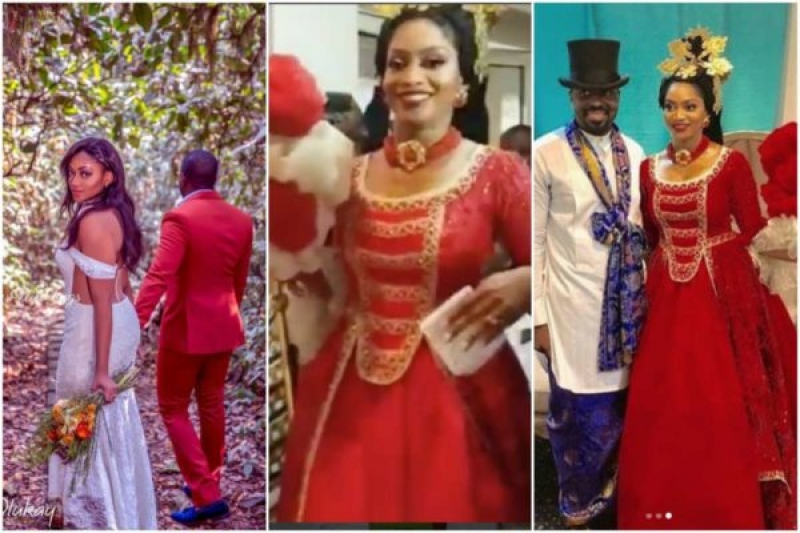 Xerona duke and dj caise in traditional wedding-5