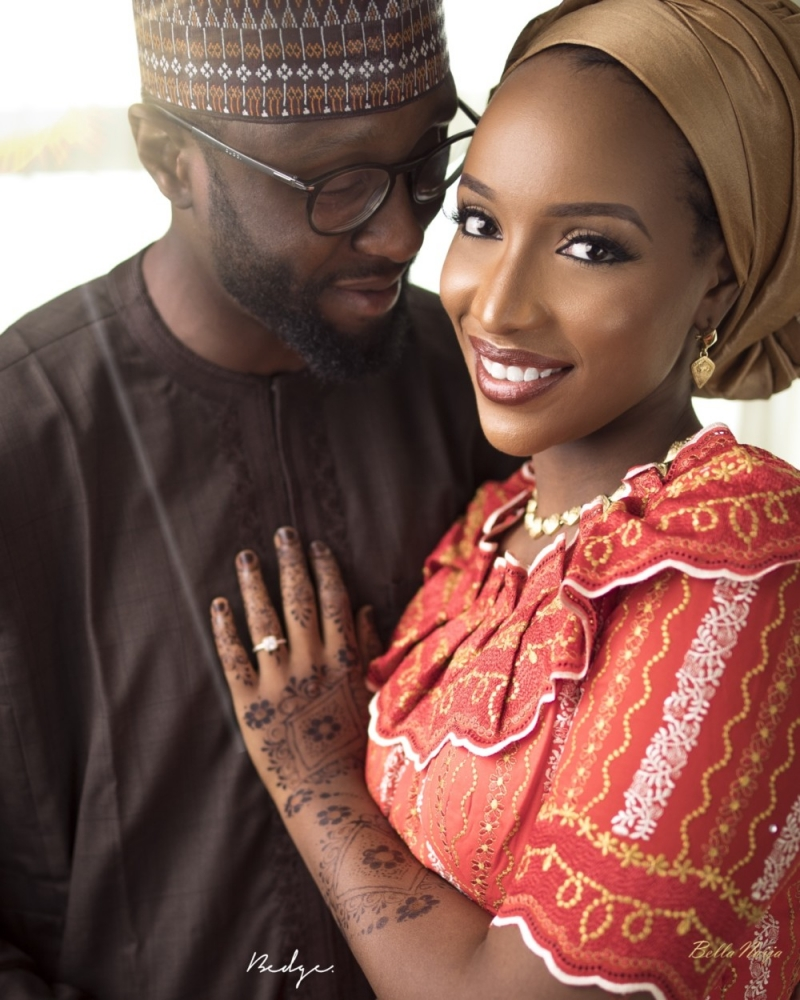 Pre-wedding photos of aliyu and iman