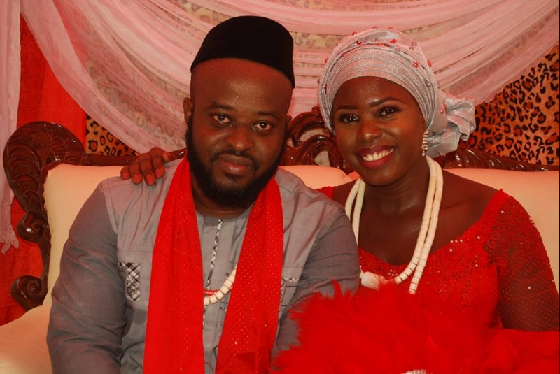 Traditional wedding pictures of nwafor chigozie paul aka don saint and his wife