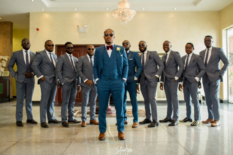 Laolu and his groomsmen in lovely pictures-3