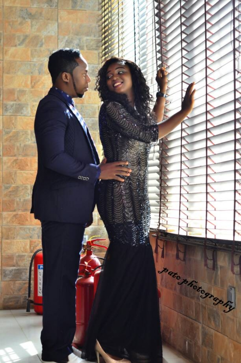 Adebowale and temilade in pre-wedding photos
