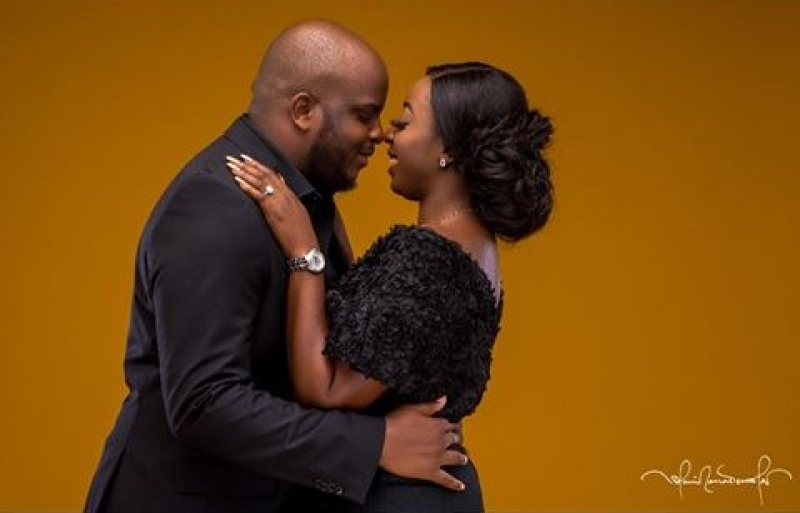 Lovely pre-wedding photos of tope and joke