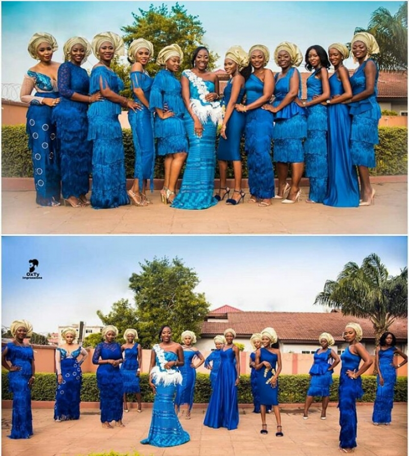 Random pictures of bride and her bridesmaids-2