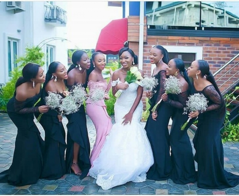 Random pictures of bride and her bridesmaids-7