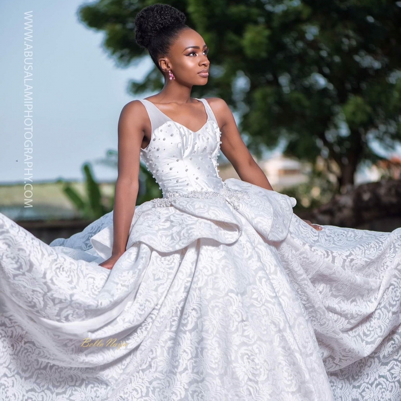 Anto big brother naija 3 housemate in bridal themed photoshoot-2