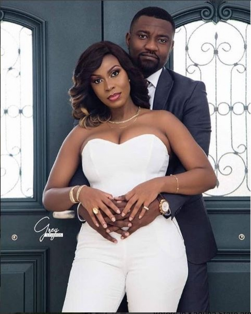 Pre-wedding and engagement photos of ghanaian actor john dumelo with gify mawunya-2