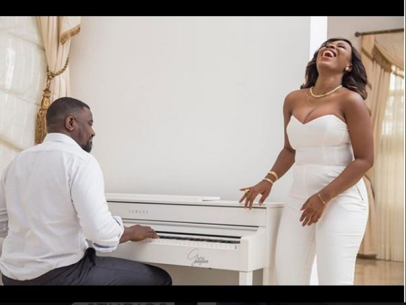 Pre-wedding and engagement photos of ghanaian actor john dumelo with gify mawunya