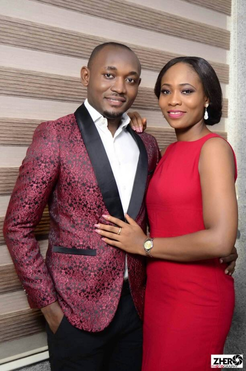 Pre-wedding photos of couple from delta state