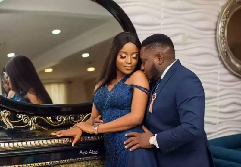 Popular nigerian viral animation comedian ajebo in pre-wedding photos with uchechi-2