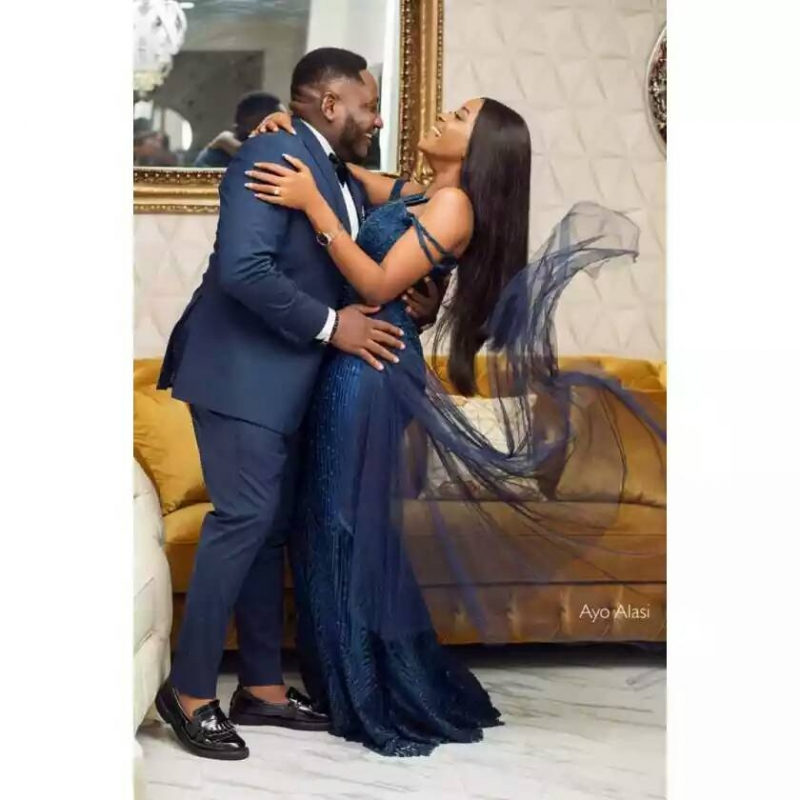 Popular nigerian viral animation comedian ajebo in pre-wedding photos with uchechi-3