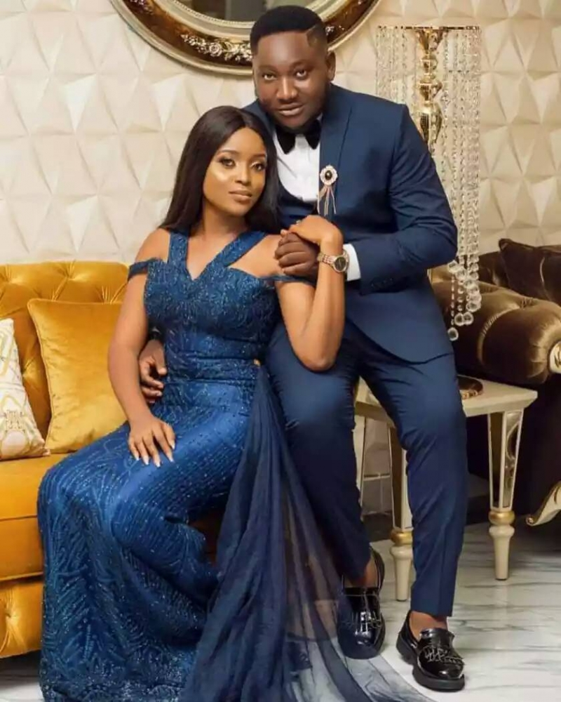 Popular nigerian viral animation comedian ajebo in pre-wedding photos with uchechi-4