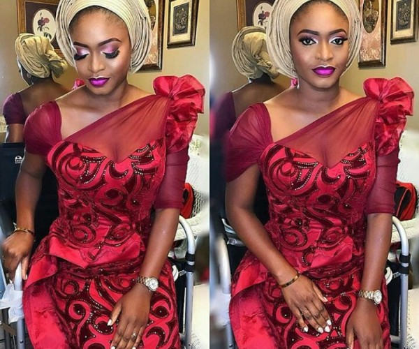 Weddings.ng presents - Latest And Trending Aso Ebi Styles - Vol.4